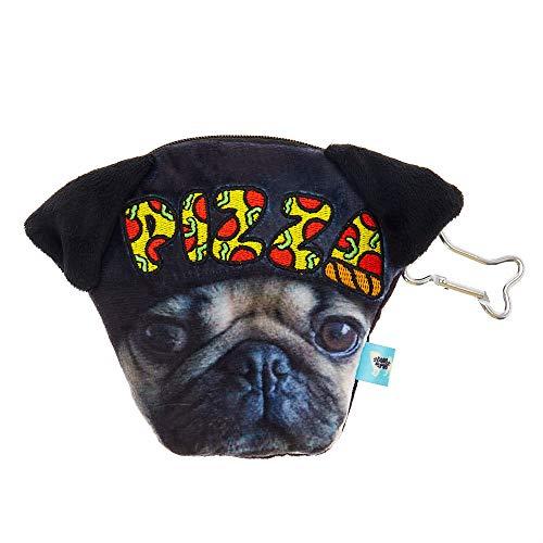 Black Pug Pizza Purse Girl's Pug Doug Doug the Claire's Coin The cw0vTYWq