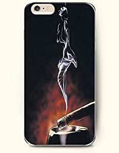 Sexy Girl Smoky Dancing - Art Expression - Phone Cover for Apple iPhone 6 Plus ( 5.5 inches ) - SevenArc Authentic...