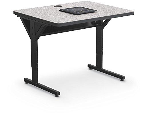 Balt Brawny Adjustable Height Mobile Training & Maker Space Table, 36