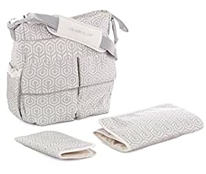 Jane Mama bolsa bolso cambiador (geométrico)