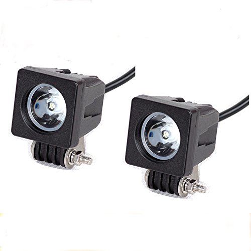 Nilight 2pcs Led Work Light Modular Lamp Truck Light for Off-road Truck Car ATV SUV Jeep Boat 4wd ATV Auxiliary Driving Lamp