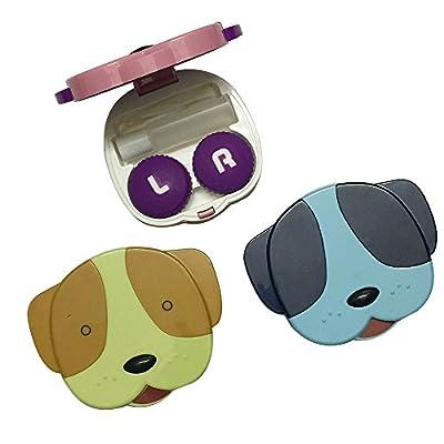 Fashion DOG Contact Lenses Box Case Contact lens Case OFFICE-764
