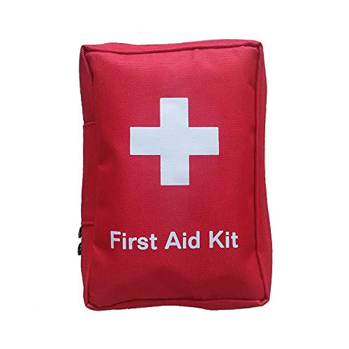 (Home First Aid Kit Survival - 72 Pieces Medical Kit, Travel Emergency Kit, Hiking First Aid Kit, Emergency Go Bag, Size Small by SadoMedCare)
