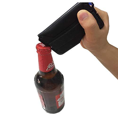 Business Card case Genuine Leather Multi-Function Front Pocket Minimalist Card Holder