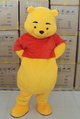 Winnie the pooh mascot costume (Winnie The Pooh Character Costumes)