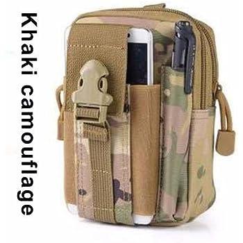 2e8d5dee8 Bolsa Militar Celular Táctica Sistema Molle ---> Estilo Café Camuflaje