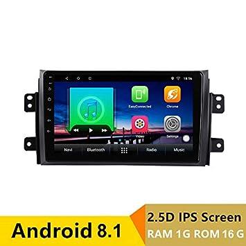 Reproductor de DVD para Coche Android 8.1, 9 Pulgadas, GPS para Suzuki SX4 2006 a 2012 2013, Radio estéreo, navegador, con Bluetooth WiFi: Amazon.es: ...