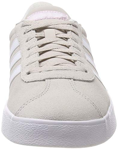 Fitness Chaussures aerorr Femme Adidas ftwbla 000 De pertiz 0 Court 2 Vl Beige xqqaIYB