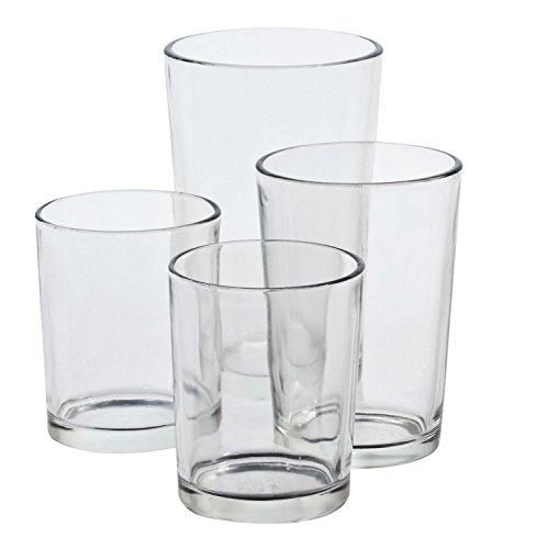 VBS Teelichtgläser, 4er-Set