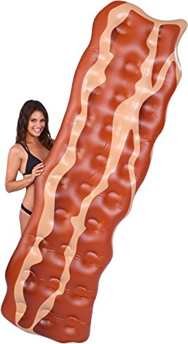 Kangaroo Pool Floats; 7 1/2 Ft Bacon Pool Raft