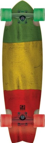 Globe Chromantic Complete Skateboard - 9.7x33 Rasta Flag