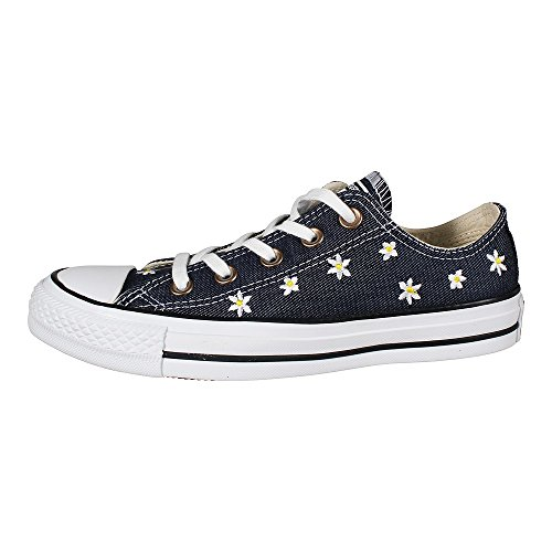 Navy Sneaker Ctas White Collo Ox Fresh Yellow Basso a Converse Donna Blu O1gBnwqTT