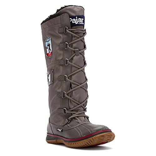 Pajar Women's Grip Zip Boot Charcoal
