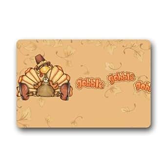 Amazon.com: Funny Turkeys Happy Thanksgiving Door Mat Rug