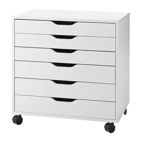 lkea IKEA 101.928.24 Alex Drawer Unit, White