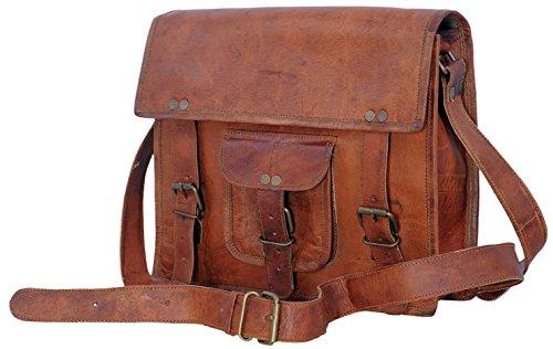 - Komal's Passion Leather Genuine Ipad/Ipad 2/ Ipad 3/ Ipad 4/ Tablet Satchel Bag