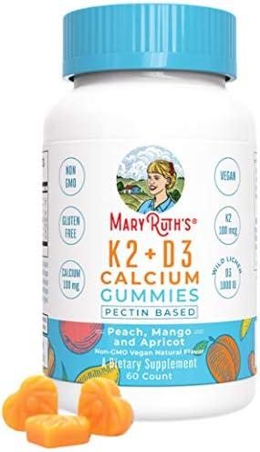 Organic Vitamin Calcium MaryRuth Chewable