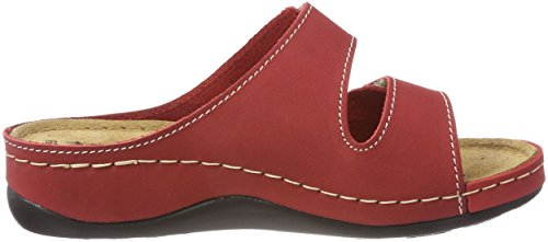 Tamaris Women's 27510 Mules, Grey, 6 UK Red