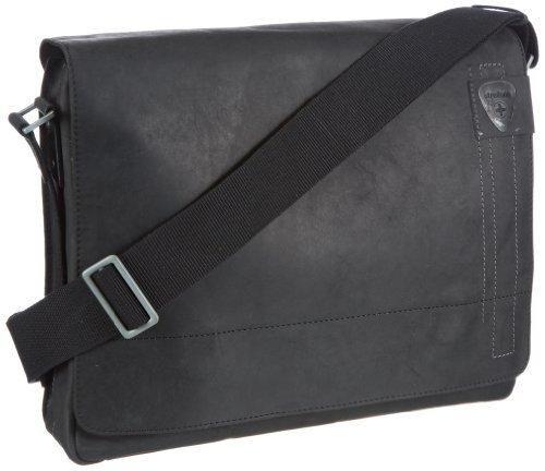 Strellson Richmond Messenger LH 4010001163、メンズメッセンジャーバッグ、ブラック(Schwarz(black 900))、39 x 31 x 9 cm(W x H x D) [並行輸入品] B07LGJKFFC