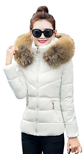 Parka Veste Automne Jacket Fille Manteau Femme Hiver Ghope Court wt6qax
