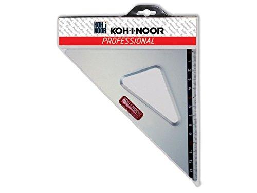 SQUADRA IN ALLUMINIO PROFESSIONAL 45°31cm. KOH-I-NOOR