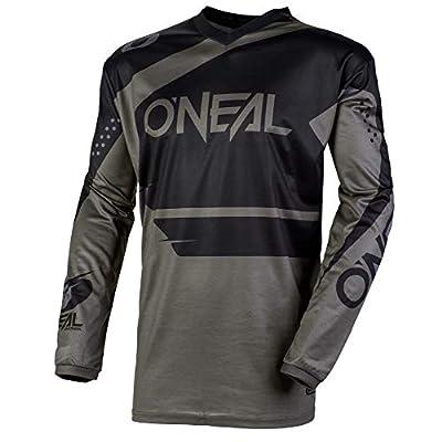 O'Neal Element Racewear Child Jersey (Black/Gray, L): Automotive