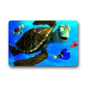 """Personalizado buscando a Nemo aventura–Felpudo, diseño de interior/al aire libre Felpudo 23.6""""x 15.7"""" tela no tejida Decoración Alfombra"""