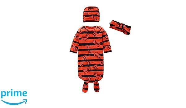 Mornyray Newborn Baby Sleeping Sack Halloween Costume 3PCS Swaddle Sleeper Bag