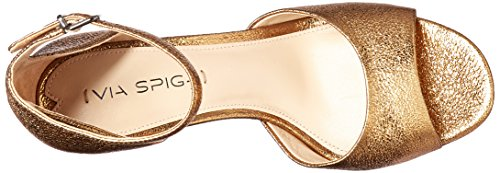 Via Spiga Womens Dress Gold Salina Platform Sandal qRx14q