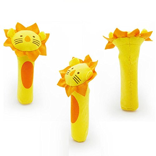 Makalon Soft Toy Animal Baby Infant Kids Handbells Rattles For Baby Kid (Baby Hulk Costume 0-6 Months)