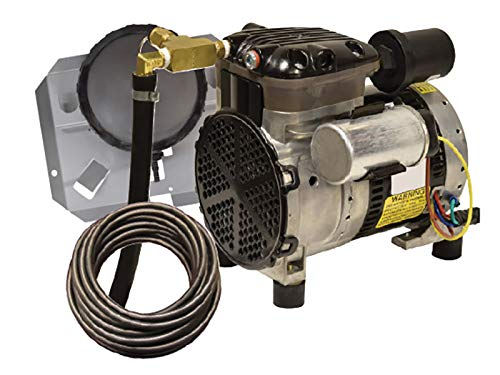 - EasyPro Pond Products PA34W 1/4 hp Rocking Piston Aeration System Kit with Quick Sink Tubing