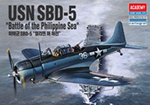 Academy US Navy SBD-5 Douglas SBD Dauntless Dive Bomber Scout Plane