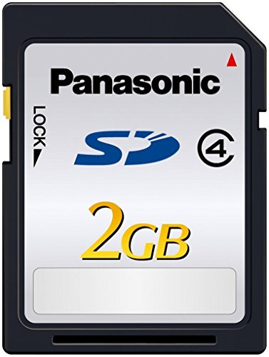Panasonic 2GB SD Memory Card Class 4 20MB/s (RP-SDLA02G) Retail (Speed 2gb Sd Card)