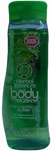 Herbal Essence Body Wash, Tea-lightfully Clean with Tea Tree Essence, 15.8 Ounce (Pack of - Wash Herbal Moisturizing Body