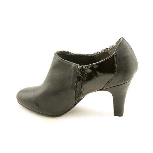 Karen Scott Neomi Mujeres Size 10 Botines De Cuero De Imitación De Color Negro