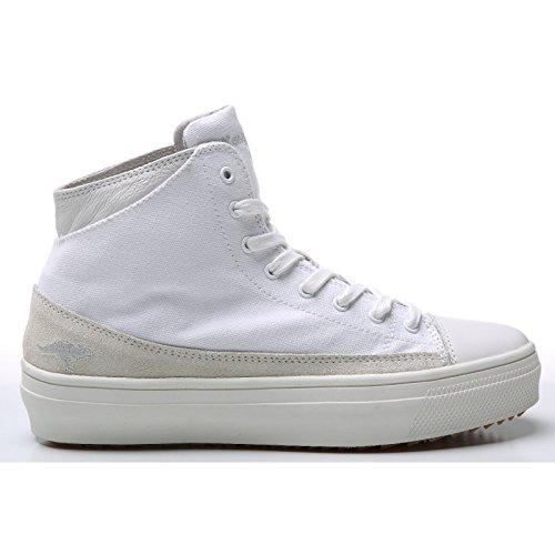 KangaROOS K-Mid Plateau 5072 Damen Hohe Sneakers Weiß
