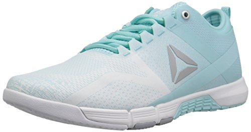 Reebok Women's CROSSFIT Grace Tr Cross Trainer, Blue Lagoon/White/Cool Sh, 9.5 M US