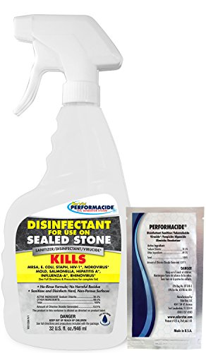 Performacide 102132 Disinfectant for Sealed Stone Kit, 32 oz by Performacide