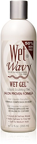 Wet N Wavy Wet Liquid Sculpting Gel, 12 Ounce