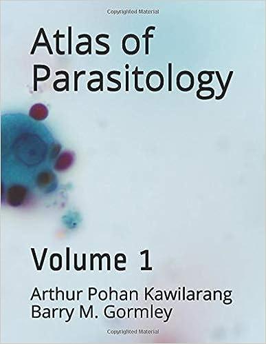 Atlas of Parasitology: Volume 1