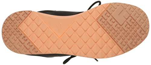 Lacoste Kvinner Tenner 01 Comg Mote Sneaker Svart / Orange