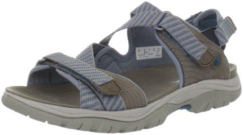 Timberland - Sandali alla moda Ekjordn Pnd Sandl, grigio (Gris (Warm Grey With Blue)), 36