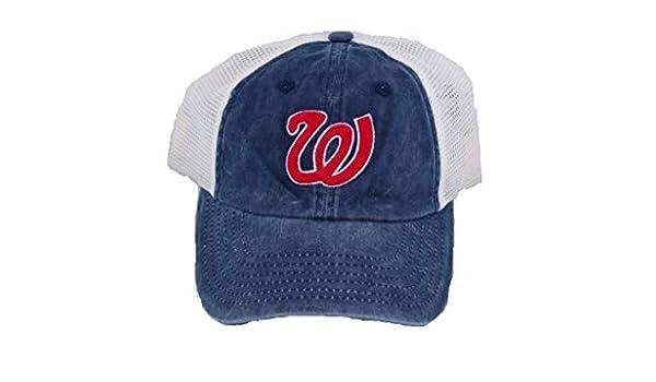 5d504a1ff Amazon.com: American Needle Washington Senators Embroidered Logo ...