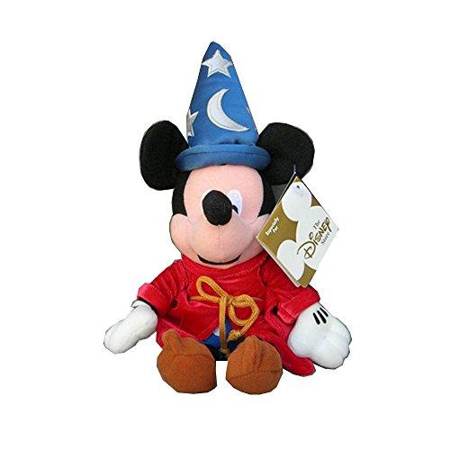 Disney Fantasia Mickey Mouse (Disney Fantasia 2000 Sorcerer Mickey Mouse Bean Bag Plush Toy 12'')