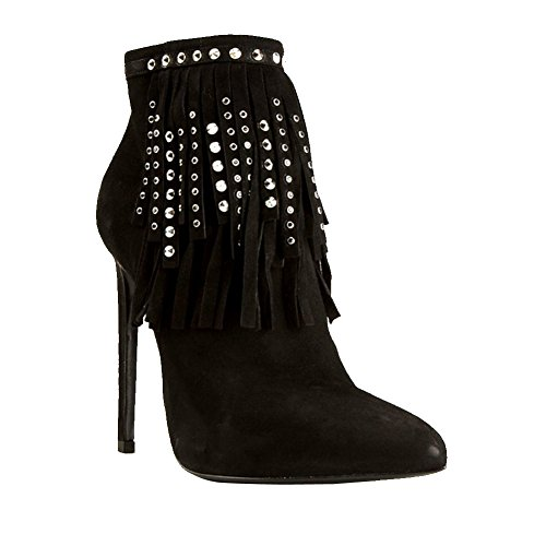 Tages 5cm Schuhe Quaste Knöchel Stiefel 10 Kolnoo Mode Heel High Partei Damen Spikes UxqpgwSvE