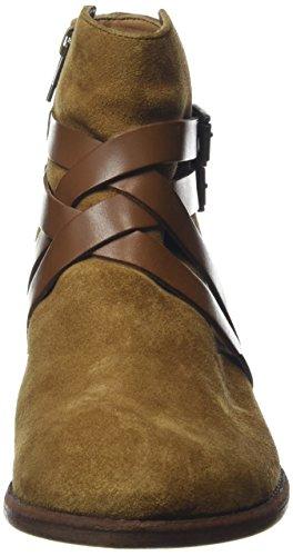 Brown Hudson Women's Tan Suede Atlas Boots Ankle rvrCx4qXw