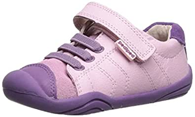 pediped Originals Jake Casual Sneaker (Infant), Pink, X-Small (0-6 Months)