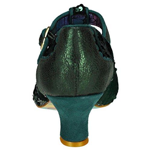 Irregular Choice Green A green T Cinturino Donna Con rrq7S4T