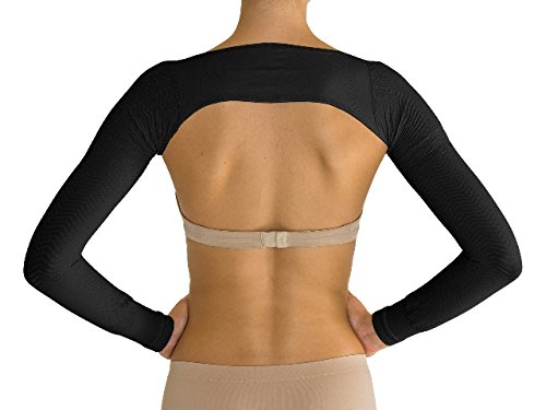 Solidea Medical 0433A5 Active Massage Arm Sleeve44; Large - Black by Solidea Medical