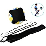 Haofy Volleyball Training Equipment Football Kick Trainer with Adjustable Elastic Cord Band 220-620cm for Adult Kids Solo Practice Spiking, Setting, Hitting, Kicking, Fit #3#4#5 Balls